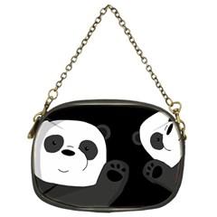 Cute Pandas Chain Purses (two Sides)