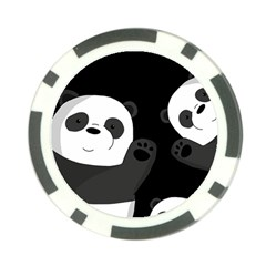 Cute Pandas Poker Chip Card Guard (10 Pack)