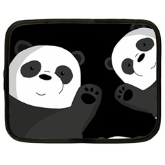 Cute Pandas Netbook Case (xl)