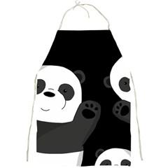 Cute Pandas Full Print Aprons