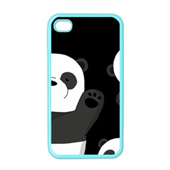 Cute Pandas Apple Iphone 4 Case (color)
