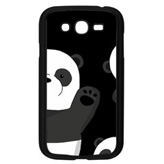 Cute Pandas Samsung Galaxy Grand Duos I9082 Case (black)
