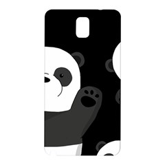 Cute Pandas Samsung Galaxy Note 3 N9005 Hardshell Back Case