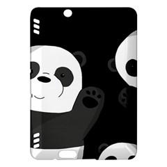 Cute Pandas Kindle Fire Hdx Hardshell Case