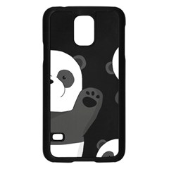 Cute Pandas Samsung Galaxy S5 Case (black)