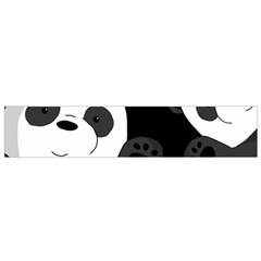 Cute Pandas Flano Scarf (small)