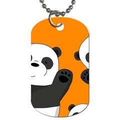 Cute Pandas Dog Tag (two Sides)