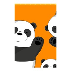 Cute Pandas Shower Curtain 48  X 72  (small)