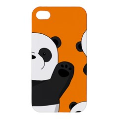 Cute Pandas Apple Iphone 4/4s Premium Hardshell Case