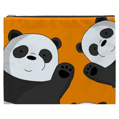 Cute Pandas Cosmetic Bag (xxxl)