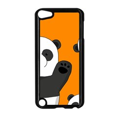 Cute Pandas Apple Ipod Touch 5 Case (black)
