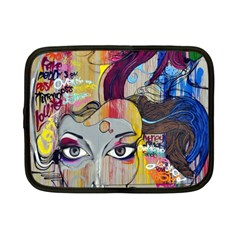 Graffiti Mural Street Art Painting Netbook Case (small)