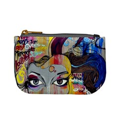 Graffiti Mural Street Art Painting Mini Coin Purses