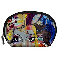 Graffiti Mural Street Art Painting Accessory Pouches (large)