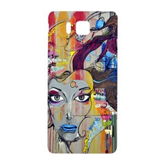 Graffiti Mural Street Art Painting Samsung Galaxy Alpha Hardshell Back Case