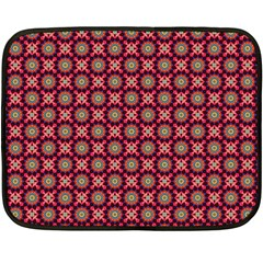 Kaleidoscope Seamless Pattern Double Sided Fleece Blanket (mini)