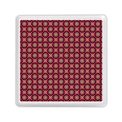 Kaleidoscope Seamless Pattern Memory Card Reader (square)
