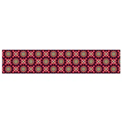 Kaleidoscope Seamless Pattern Flano Scarf (small)