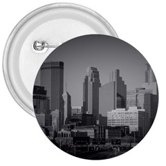 Minneapolis Minnesota Skyline 3  Buttons