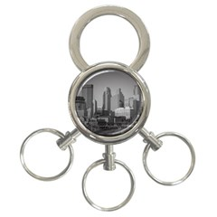 Minneapolis Minnesota Skyline 3 Ring Key Chains