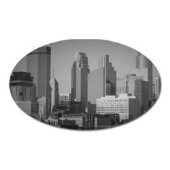Minneapolis Minnesota Skyline Oval Magnet