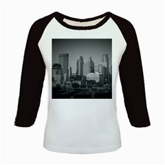 Minneapolis Minnesota Skyline Kids Baseball Jerseys