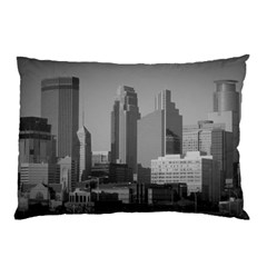 Minneapolis Minnesota Skyline Pillow Case