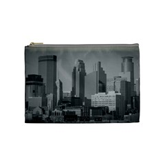 Minneapolis Minnesota Skyline Cosmetic Bag (medium)