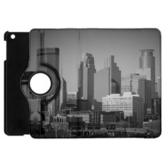 Minneapolis Minnesota Skyline Apple Ipad Mini Flip 360 Case