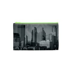 Minneapolis Minnesota Skyline Cosmetic Bag (xs)