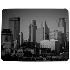 Minneapolis Minnesota Skyline Jigsaw Puzzle Photo Stand (rectangular)