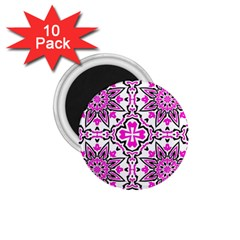 Oriental Pattern 1 75  Magnets (10 Pack)