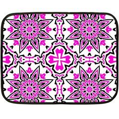 Oriental Pattern Double Sided Fleece Blanket (mini)