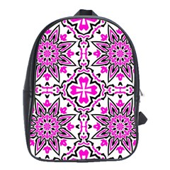 Oriental Pattern School Bag (large)