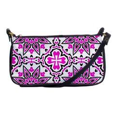 Oriental Pattern Shoulder Clutch Bags