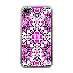 Oriental Pattern Apple Iphone 4 Case (clear)