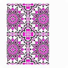 Oriental Pattern Small Garden Flag (two Sides)