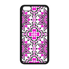 Oriental Pattern Apple Iphone 5c Seamless Case (black)