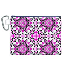 Oriental Pattern Canvas Cosmetic Bag (xl)