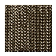 Sparkling Metal Chains 01a Tile Coasters
