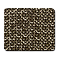 Sparkling Metal Chains 01a Large Mousepads