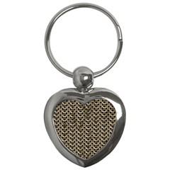 Sparkling Metal Chains 01a Key Chains (heart)