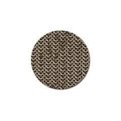 Sparkling Metal Chains 01a Golf Ball Marker (10 Pack)