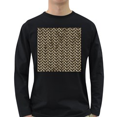 Sparkling Metal Chains 01a Long Sleeve Dark T Shirts
