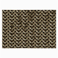 Sparkling Metal Chains 01a Large Glasses Cloth