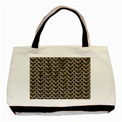 Sparkling Metal Chains 01a Basic Tote Bag (two Sides)
