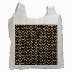 Sparkling Metal Chains 01a Recycle Bag (two Side)