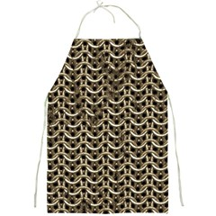 Sparkling Metal Chains 01a Full Print Aprons