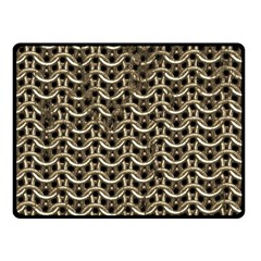 Sparkling Metal Chains 01a Fleece Blanket (small)