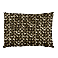 Sparkling Metal Chains 01a Pillow Case (two Sides)